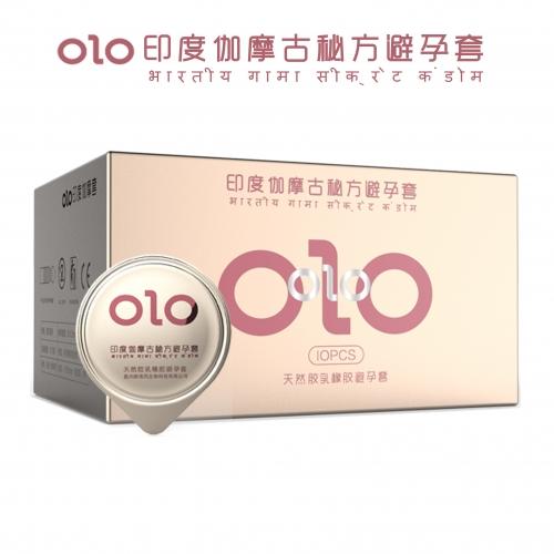 OLO  印度伽摩古秘方避孕套  10只装