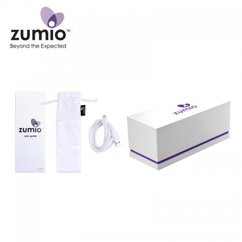 Zumio珠蜜 牙刷型女性蜜豆按摩器螺旋式搖擺自慰器
