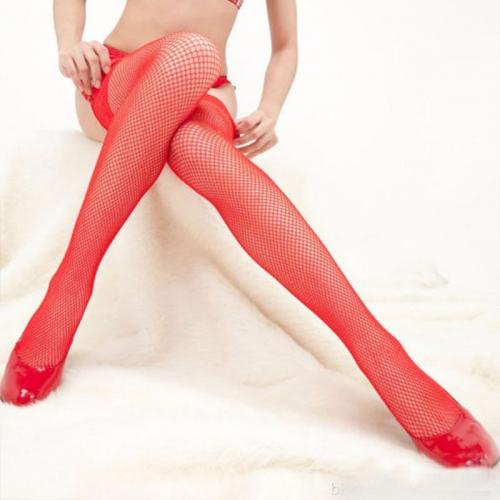 霏慕 中網性感蕾絲花邊 長筒襪網襪