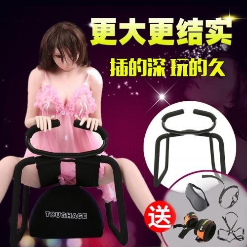 【送束縛禮包】TOUGHAGE 蹦床性愛椅墊二合一套裝 情趣家具