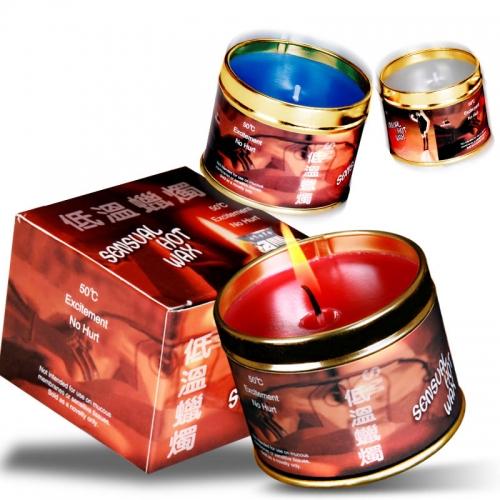 暮曲 三色鐵盒低溫蠟燭 sm滴蠟