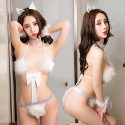 清純貓女游戲制服誘惑套裝