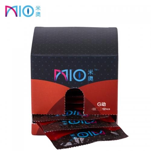 米奥 G动刺激薄款果味避孕套 中号 12只装避孕