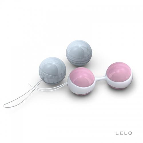 瑞典LELO Luna 物理紧致跳蛋球凯格尔缩阴哑铃  女用