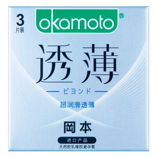 冈本新透薄系列 超润滑透薄 中号 3/10只装