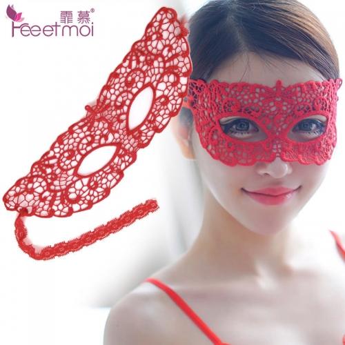 霏慕 蕾絲鏤空眼罩女王面具