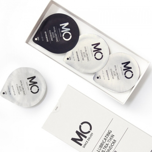 名流 MO玻尿酸润滑超薄保湿避孕套 9只装 买一盒多送两只