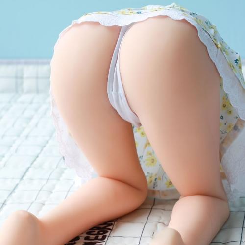 卧娜尼  逼真双穴可发声自慰半身实体娃娃